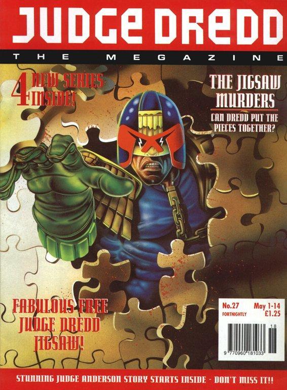 Judge Dredd: The Megazine #27
