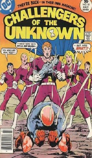 Challengers of the Unknown #81