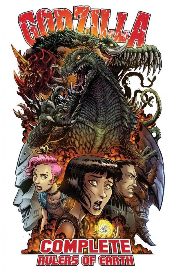Godzilla: Complete Rulers of Earth Vol. 1 TP