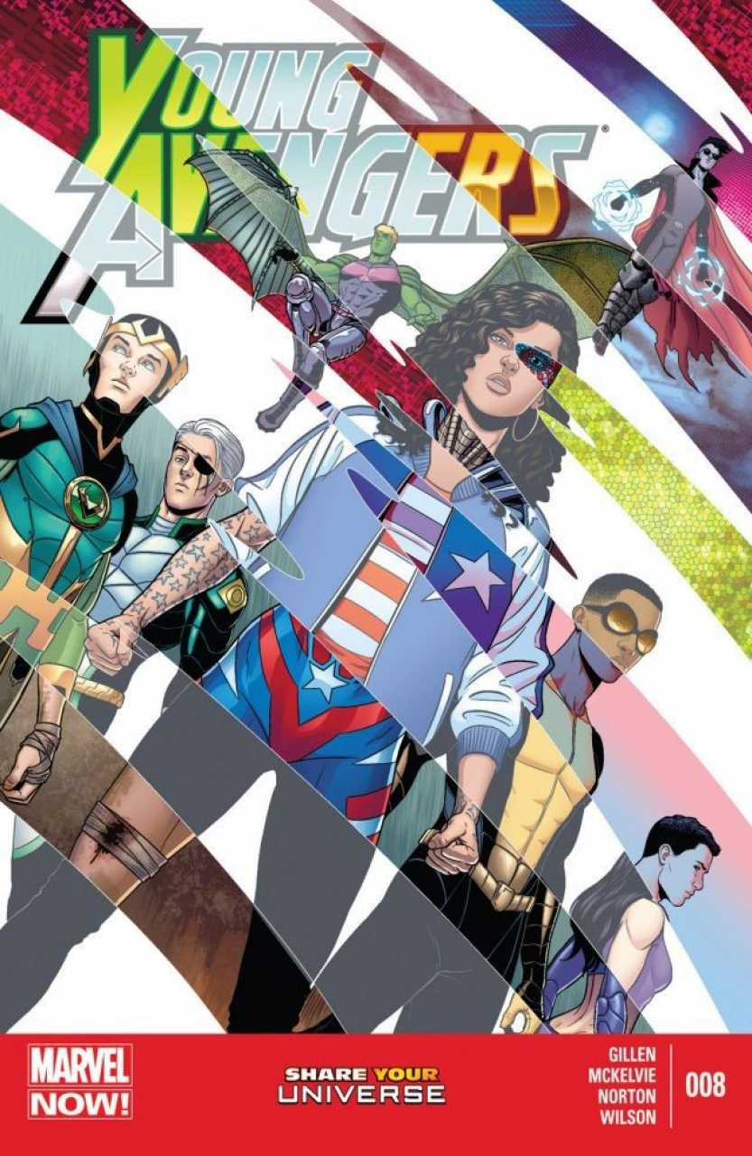 Young Avengers #8