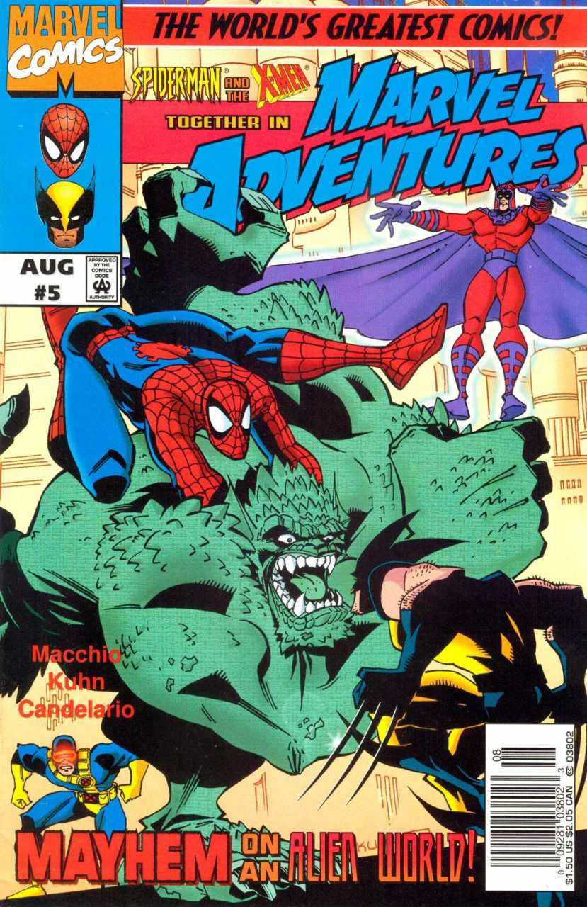 Marvel Adventures #5