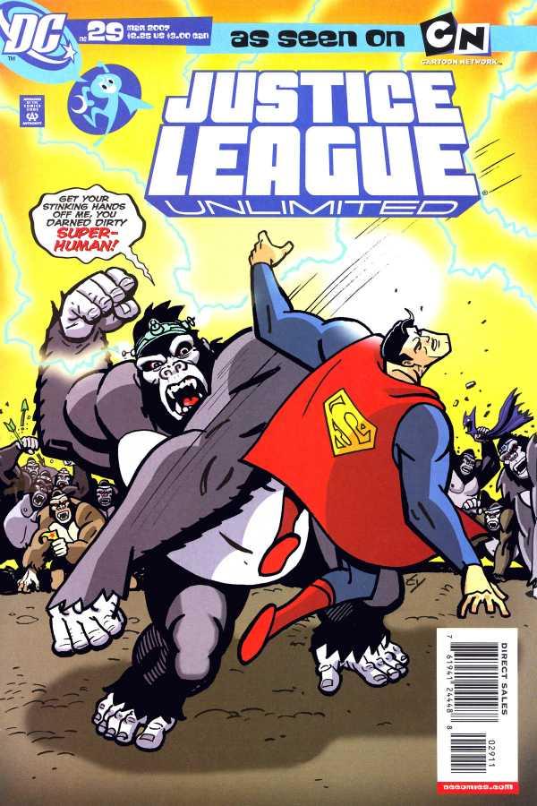 Justice League Unlimited #29