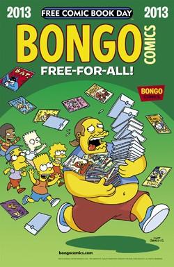 Free Comic Book Day 2013: Bongo Comics Free-For-All! #1