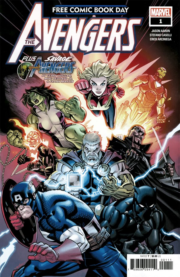 Free Comic Book Day 2019: The Avengers #1