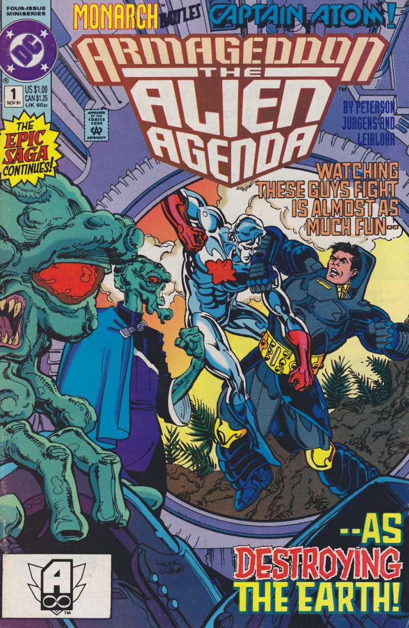 Armageddon: The Alien Agenda #1