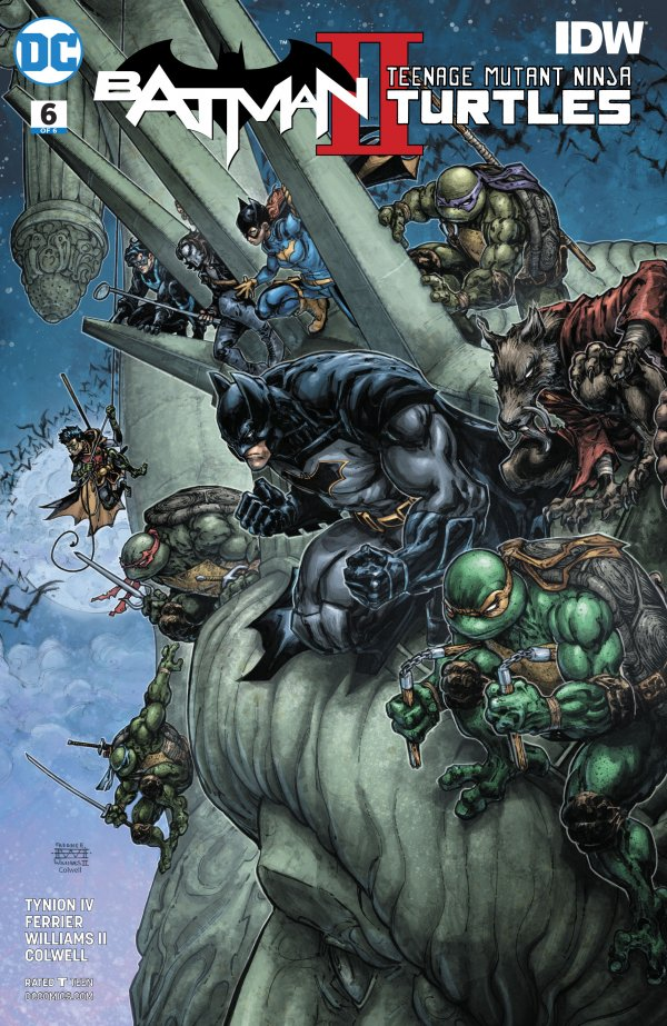 Batman / Teenage Mutant Ninja Turtles II #6