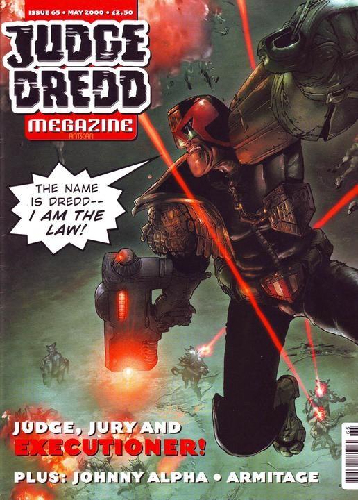 Judge Dredd Megazine #65