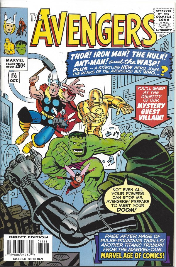The Avengers #1 1/2
