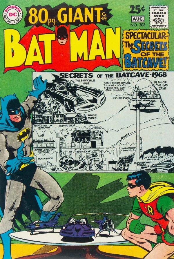 Batman #203