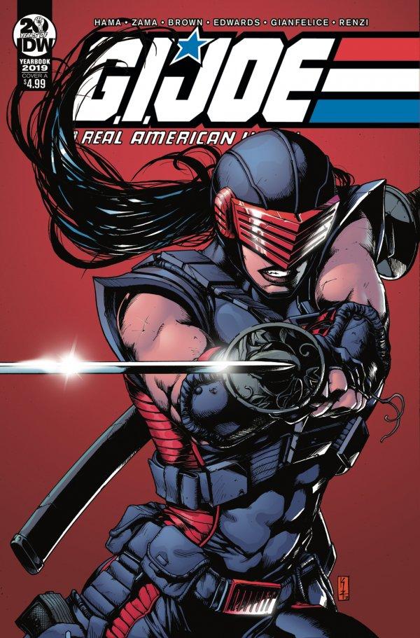 G.I. Joe: A Real American Hero - Yearbook #1