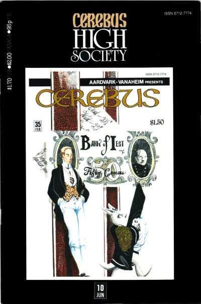 Cerebus High Society #10