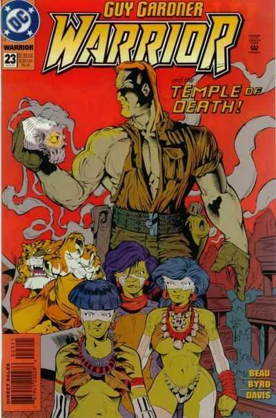 Guy Gardner: Warrior #23