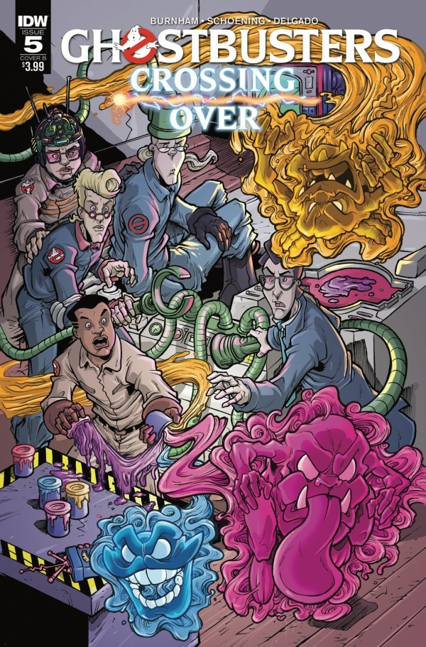 Ghostbusters: Crossing Over #5