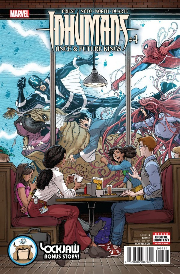 Inhumans: Once and Future Kings #4
