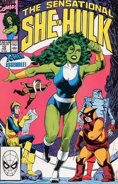 The Sensational She-Hulk #12