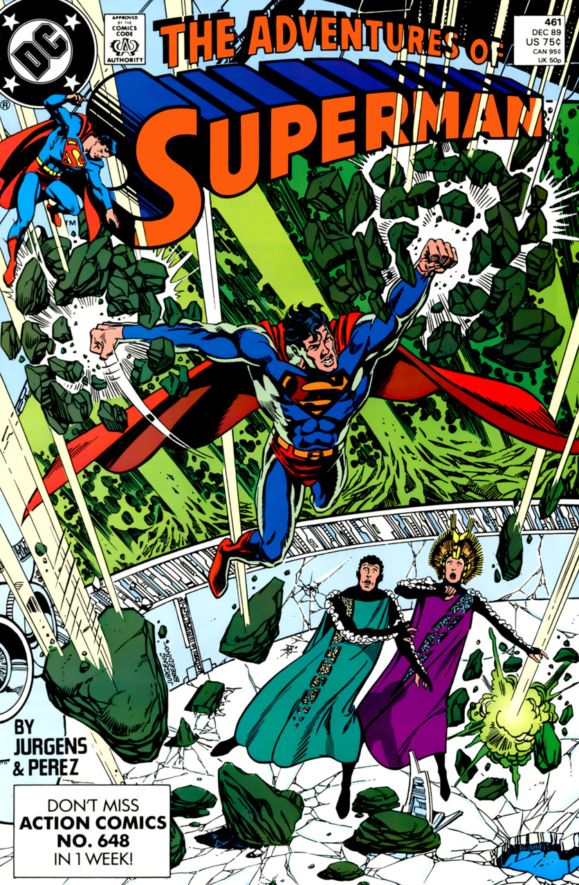 Adventures of Superman #461
