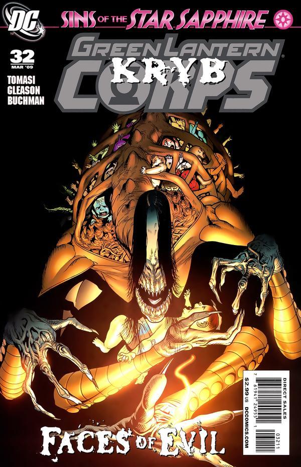Green Lantern Corps #32