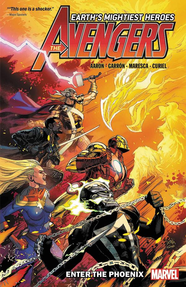The Avengers by Jason Aaron Vol. 8: Enter the Phoenix TP