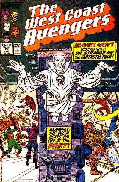 The West Coast Avengers #22