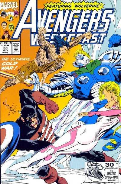 Avengers West Coast #88