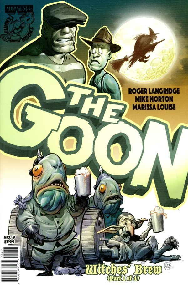 The Goon #9 review