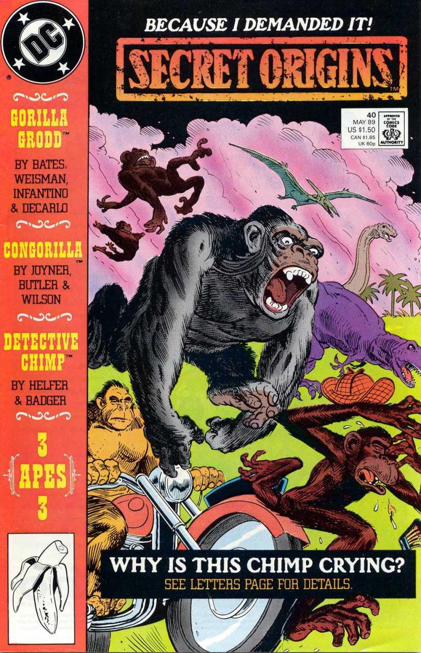 Secret Origins #40