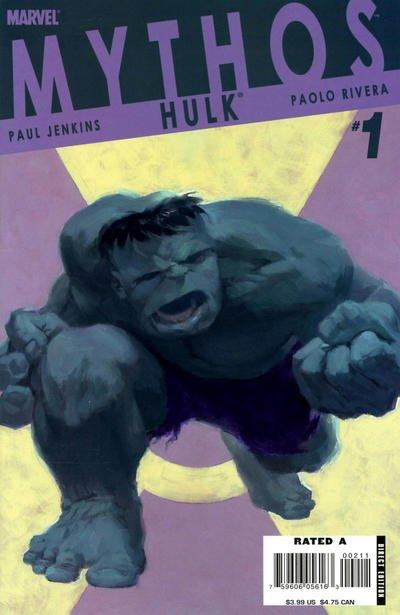 Mythos: Hulk #1