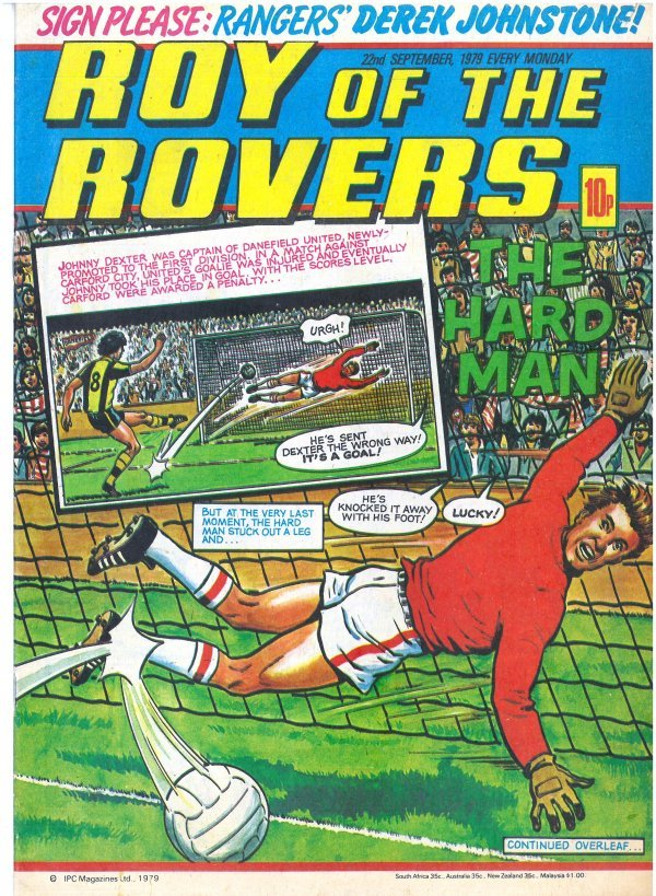 Roy of the Rovers #September 22nd, 1979