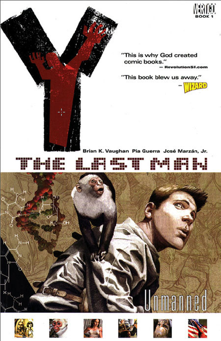 Y: The Last Man Vol. 1: Unmanned TP