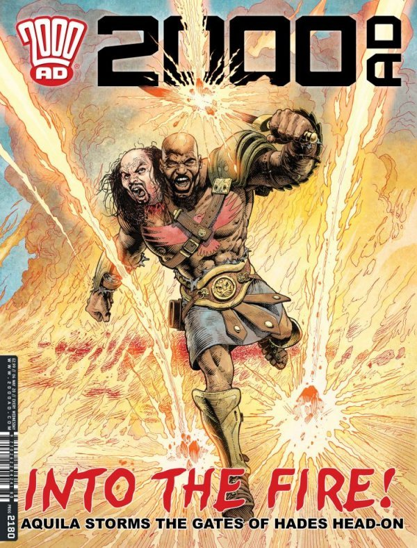 2000 AD #2180 review