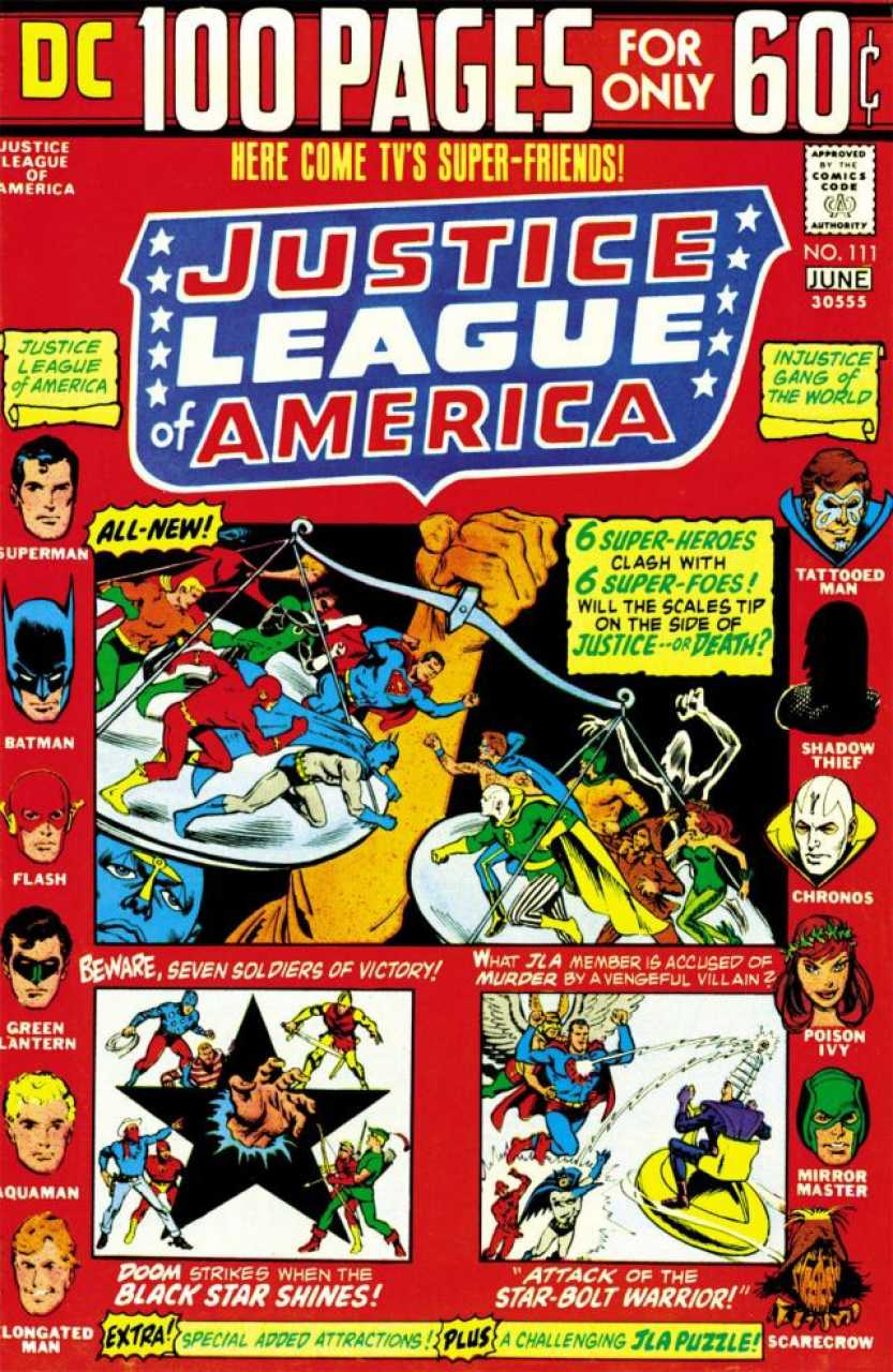 Justice League of America #111