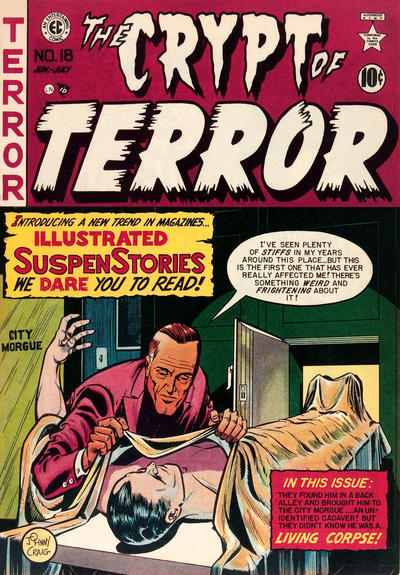The Crypt of Terror #18