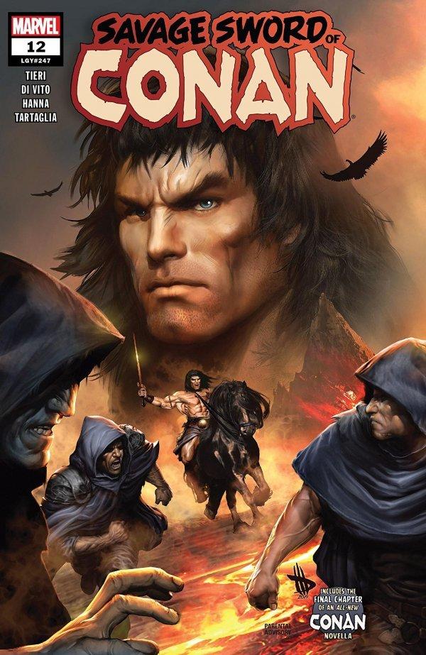Savage Sword of Conan #12