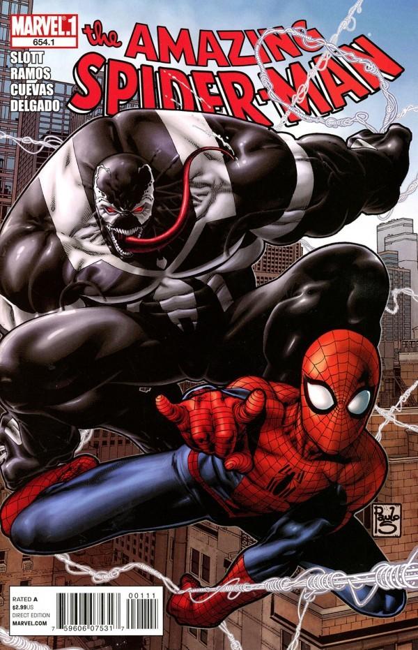 The Amazing Spider-Man #654.1