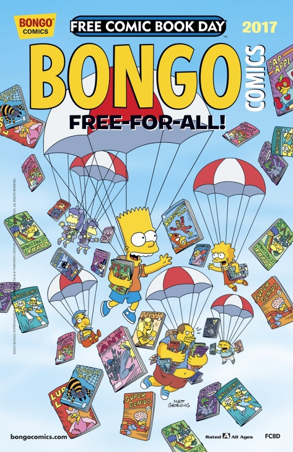 Free Comic Book Day 2017: Bongo Comics Free-For-All! review
