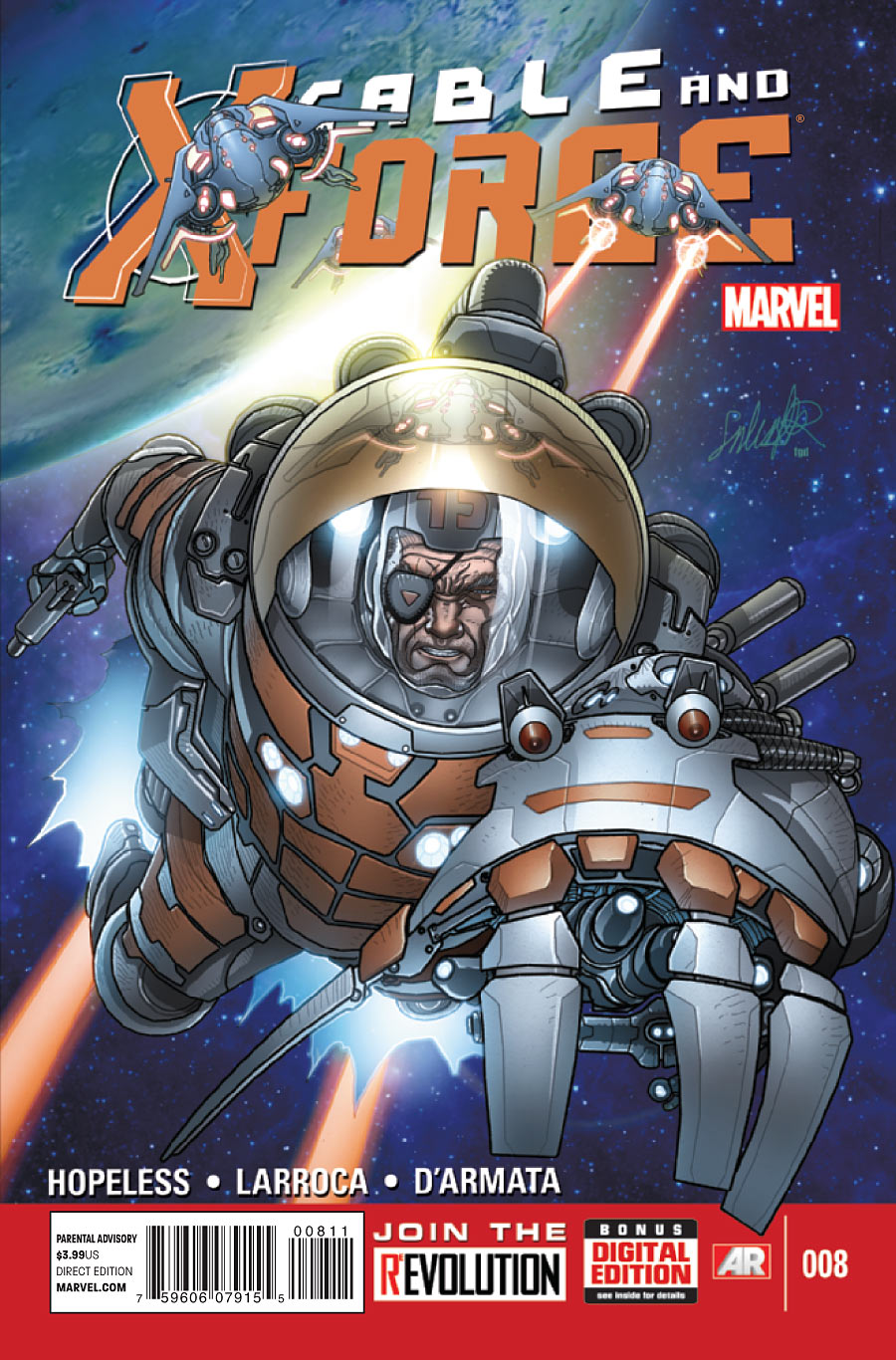 Cable and X-Force #8