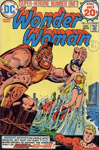 Wonder Woman #215