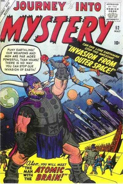 Journey into Mystery #52