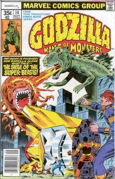 Godzilla: King of the Monsters #14