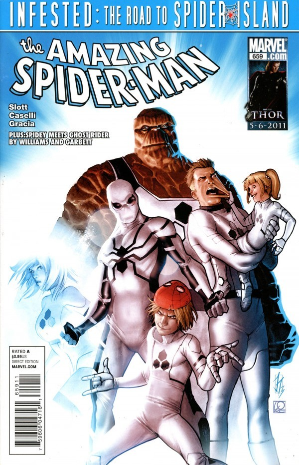 The Amazing Spider-Man #659