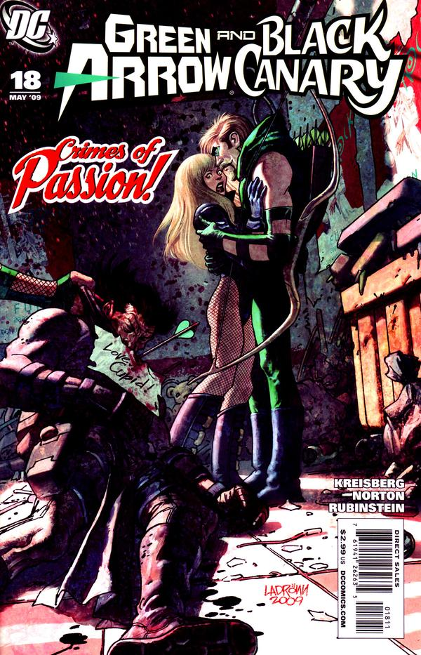 Green Arrow / Black Canary #18