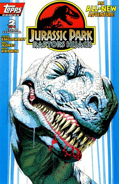 Jurassic Park: Raptors Hijack #2