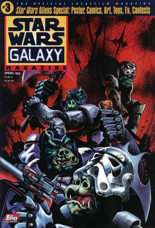 Star Wars Galaxy Magazine #3