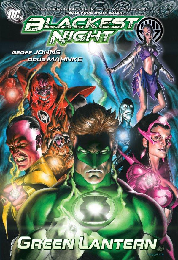 Blackest Night: Green Lantern HC