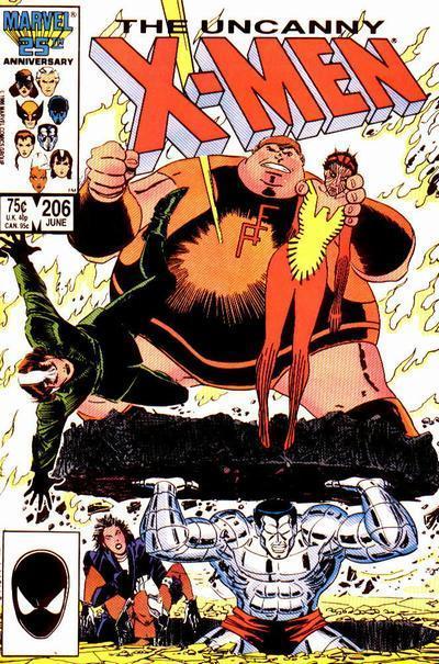 Uncanny X-Men #206