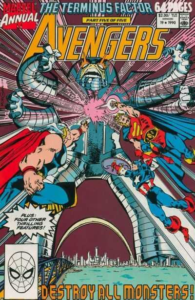 The Avengers Annual #19
