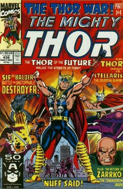 The Mighty Thor #438