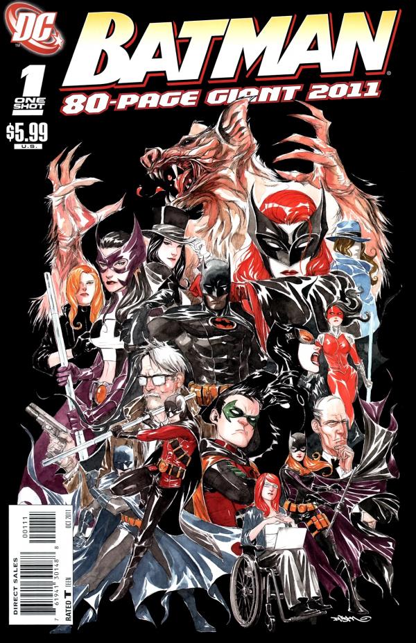 Batman 80 Page Giant 2011 #1
