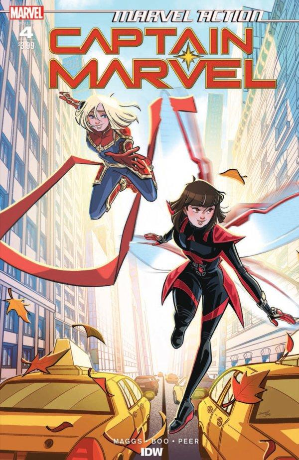 Marvel Action: Captain Marvel #4
