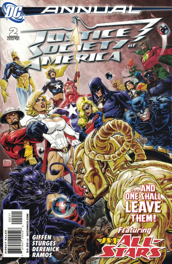 Justice Society of America Annual #2